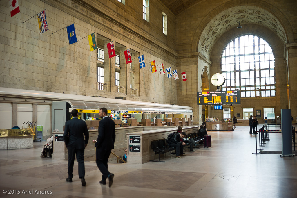 Union Station's Ticket Lobby informally known as the Great Hall according to wikipedia.