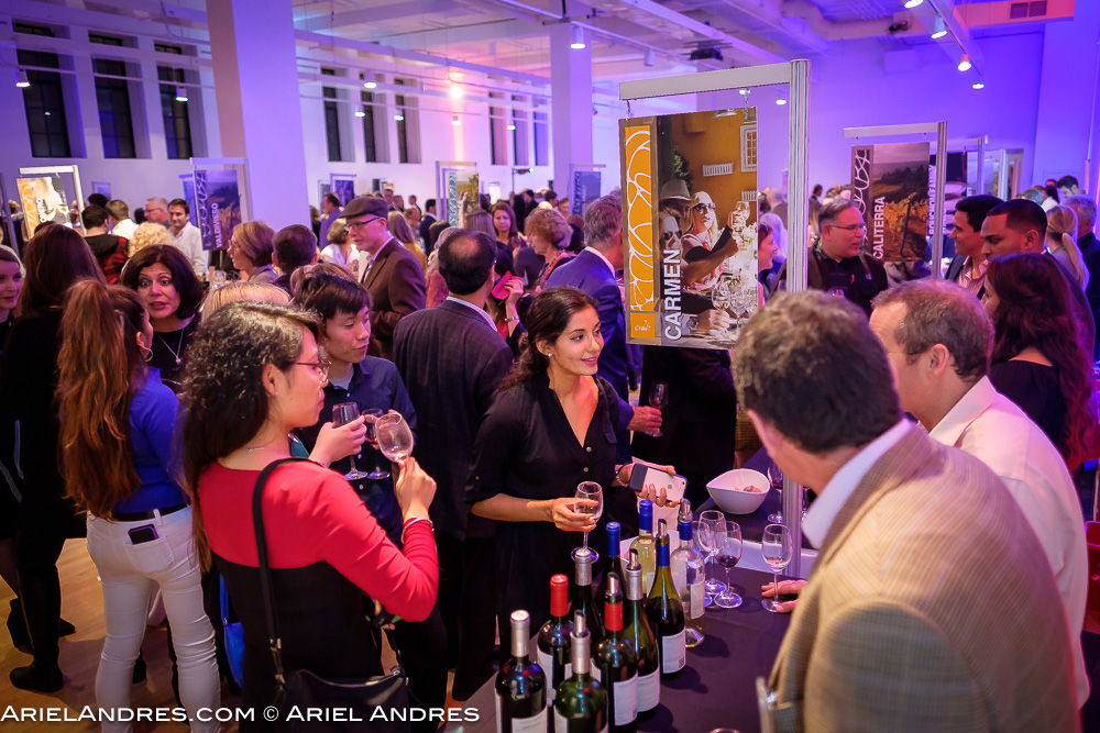 Consumers were able to sample almost 200 wines from over 20 different Chilean wineries at the Love Wine, Love Chile event at the Royal Ontario Museum in Toronto on November 1, 2016.